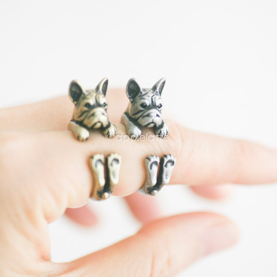 frenchie-schmuck-ring