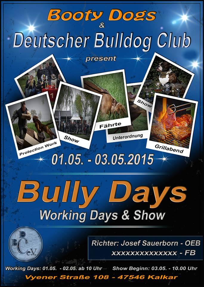 bullydays kalkar