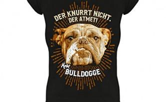 bulldogge atmen knurren